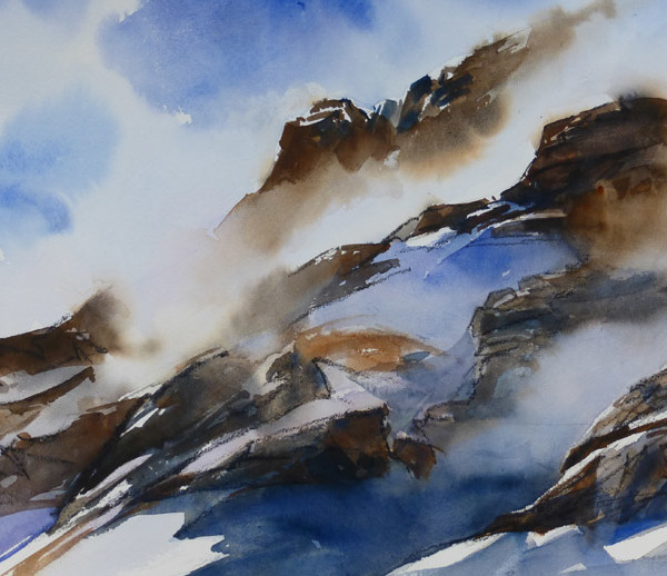Brume en Maurienne