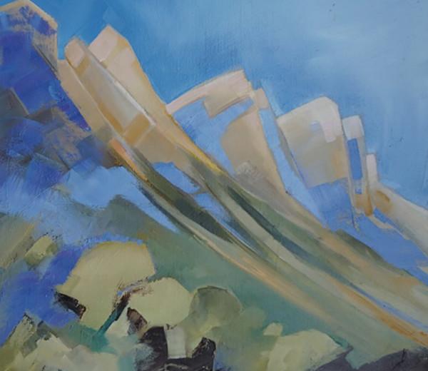 Falaises vercors 46×61