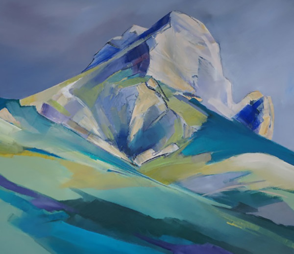 La dent de Crolles 60×60