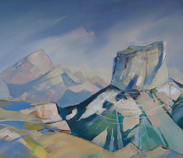 Mont Aiguille 65×92
