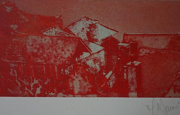 Conques 12×29 gravure au forte